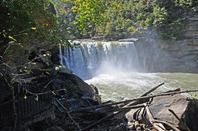 Cumberland Falls In Corbin Kentucky Home Of The Moonbow
