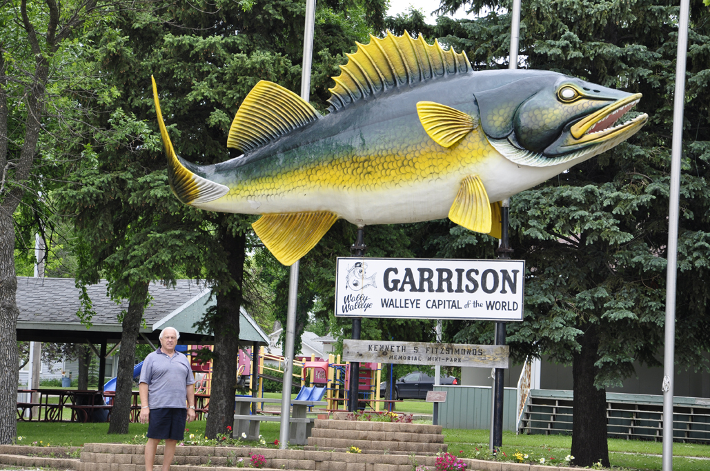 The walleye capitol of the world for North dakota walleye fishing