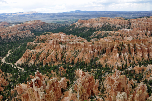 The Two Rv Gypsies Viewed Bryce Canyon Np Hoodoos From