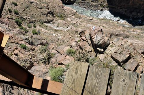 Royal Gorge Park Suspension Bridge Zipline White Bison