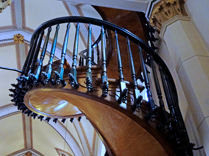 The Two Rv Gypsies Went To The Spiral Staircase In Santa Fe