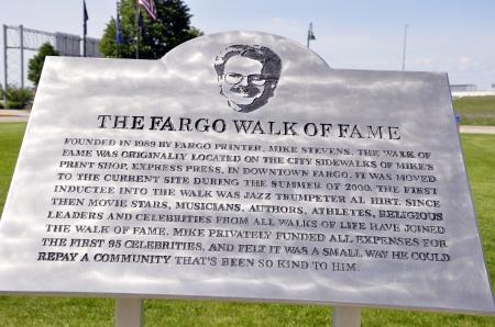 fargo walk of fame