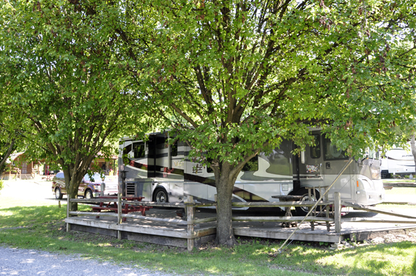 the two rv gypsies at the bristol kingsport koa in tennessee. Black Bedroom Furniture Sets. Home Design Ideas