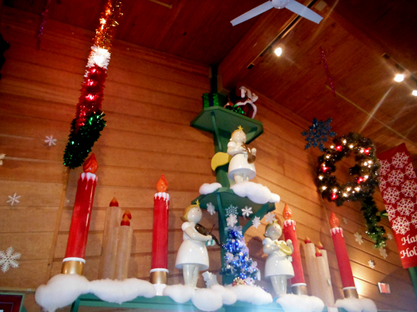 large decorations at bronners christmas wonderland