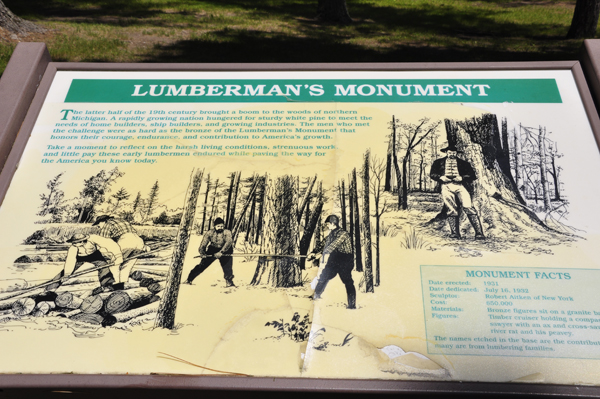 The Two Rv Gypsies At The Lumberman S Monument