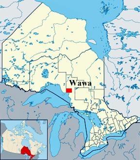 Map Of Wawa Ontario Canada The two RV Gypsies in Wawa, Ontario, Canada