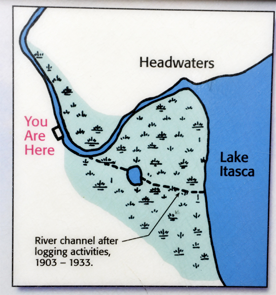 Itasca State Park Where The Mississippi River Begins 2013