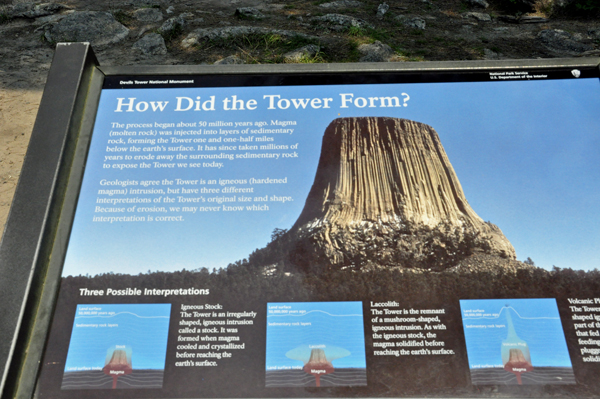 The Two RV Gypsies at Devil's Tower in Wyoming page 2 of 2