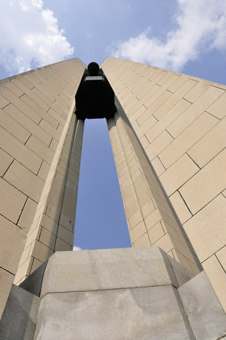 The Carillon Park And Bell Tower In Dayton Ohio