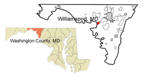 Usa Map Showing Locatiion Of Maryland Map Of Maryland Showing Location Of The Koa