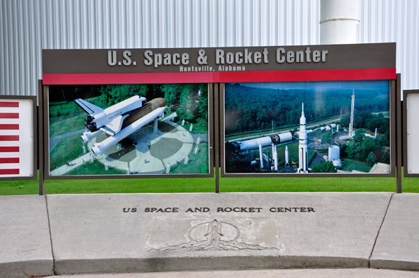 U.S. Space and Rocket Center in Huntsville Alabama