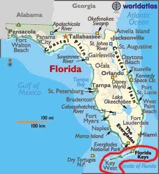 The Two RV Gypsies In The Florida Keys With Friends Page Of - Us map key
