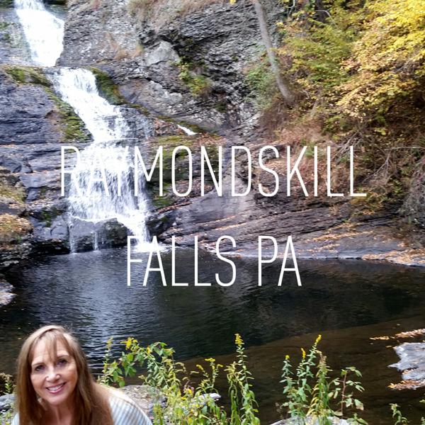 The Two Rv Gypsies At Raymondskill Falls In Pennsylvania 2014