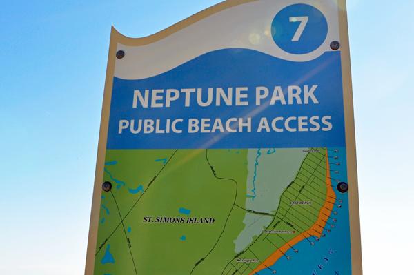 St Simon Beach Access