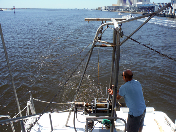 Shrimping in Biloxi, Mississippi