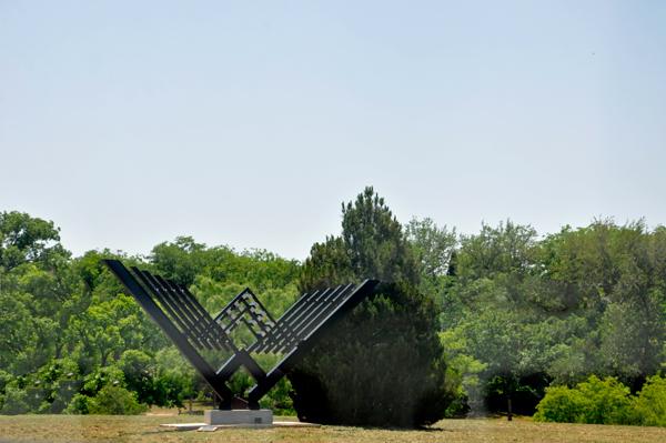 Nature Center Sunken Gardens And Art Sculptures