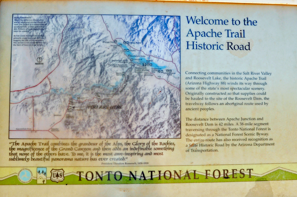 Tonto National Forest in Arizona
