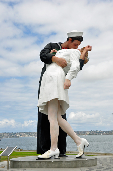 Unconditional Surrender Statues In Florida And California