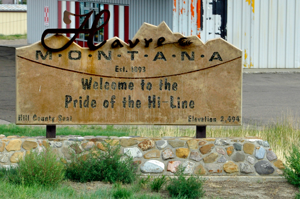 Big sandy and havre montana below the gas station and old train in front of havre rv park in havre mt sciox Choice Image