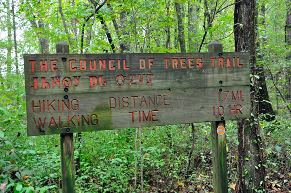 Red clay state historical park in tennessee council of trees trail sign publicscrutiny Image collections