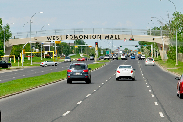 Used Car Lots Edmonton: Largest Shopping Mall In North America