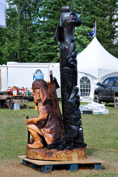 Chetwynd chainsaw carving competition