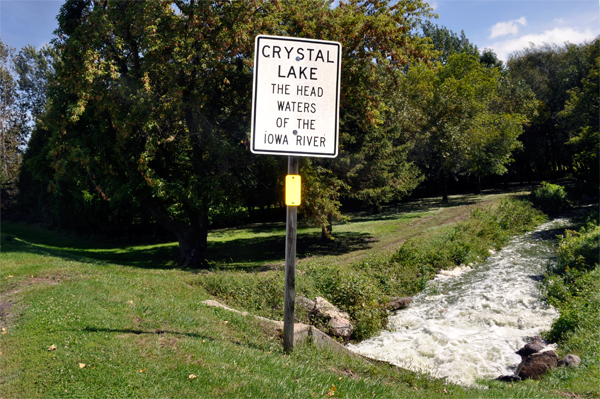 Crystal Lake Forest City Iowa