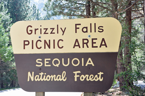 Grizzly Falls Picnic Area