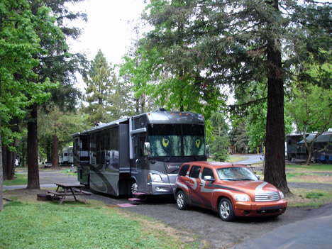 North Petaluma Koa Campground In California